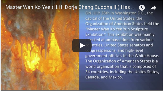 Master Wan Ko Yee (H.H. Dorje Chang Buddha III) Has Made A Great Contribution To Art