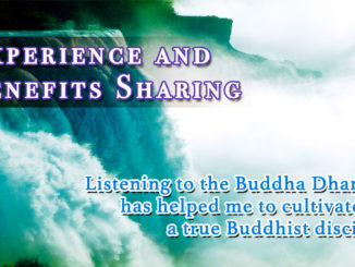 Listening to the Buddha Dharma by H.H. Dorje Chang Buddha III has helped me to cultivate as a true Buddhist disciple