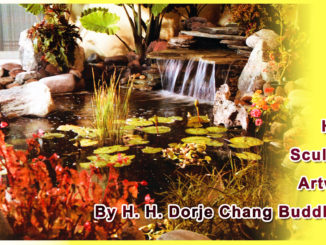 Hand Sculpted Artwork By H. H. Dorje Chang Buddha III