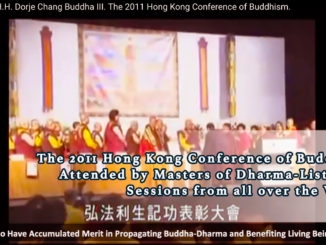 The 2011 Hong Kong Conference of Buddhism Attended by Masters of Dharma-Listening Sessions from all over the World